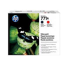HP 771 P2V47A BlackRed Printhead