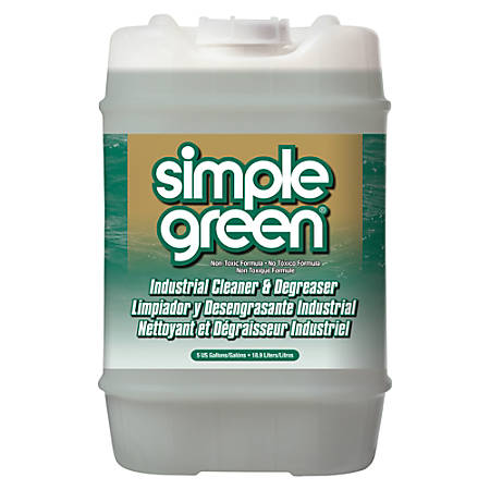 Simple Green® Concentrated All-Purpose Cleaner/Degreaser/Deodorizer, 5 Gallon