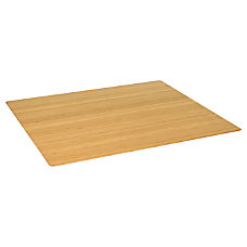 Realspace Bamboo Chair Mat 42 x