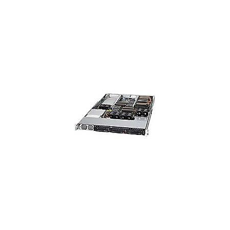 Supermicro SuperServer 6016GT-TF-FM105 Barebone System - 1U Rack-mountable - Intel 5520 Chipset - Socket B LGA-1366 - 2 x Processor Support - Black - 192 GB DDR3 SDRAM DDR3-1333/PC3-10600 Maximum RAM Support - Serial ATA/300 RAID Supported Controller