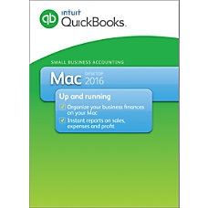 QuickBooks For 1 Device For Mac