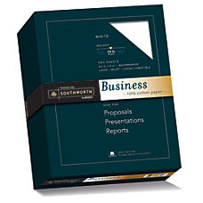 Southworth 100percent Cotton Business Paper 8
