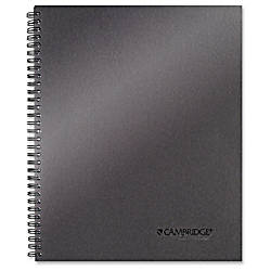 Mead Titanium 11 Metallic Notebook Twin