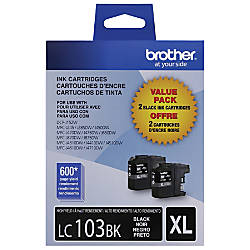Brother LC103 High Yield Black Ink