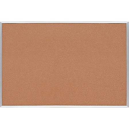 "Sparco Basic Aluminum Frame Cork Board, 48"" x 36"""