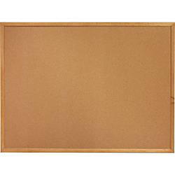 Sparco Wood Frame Cork Board 24