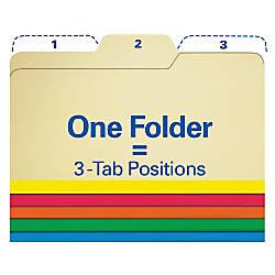 Find It All Tab File Folders