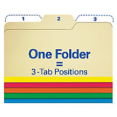 Find It All Tab File Folders