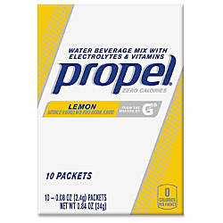 Propel Quaker Foods Lemon Beverage Mix