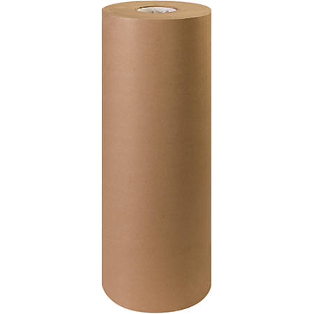 """Office Depot® Brand Unbleached Butcher Paper Roll, 24"""", Kraft"""