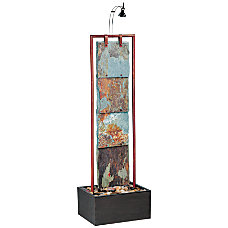 Kenroy Montpelier Indoor Floor Fountain SlateCopper
