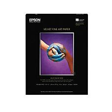 Epson Velvet Fine Art Paper 8