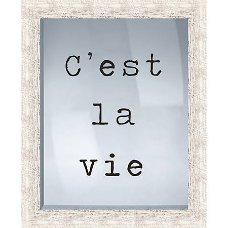 "PTM Images Framed Art, La Vie, 21 1/2""H x 17 1/2""W"