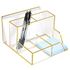Realspace Acrylic Desk Caddy 16 12