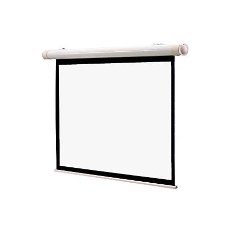 "Draper Salara Series M Manual Projection Screen - 60"" x 80"" - Matte White - 100"" Diagonal"