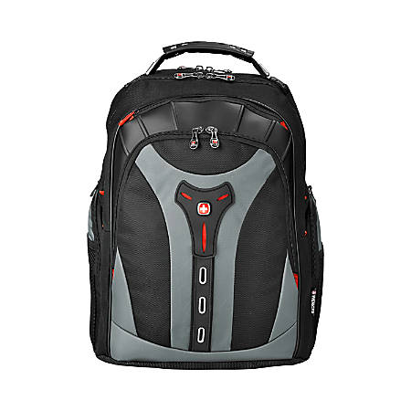 Swissgear Pegasus Computer Backpack For Laptops Up To 17 Black Blue Item 130230