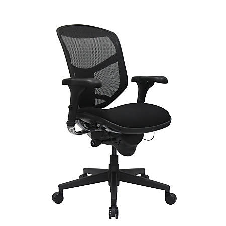 en staples splssku chair ergonomic worksmart black ca product