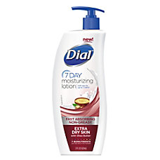 Dial 7 Day Moisturizing Lotion Extra