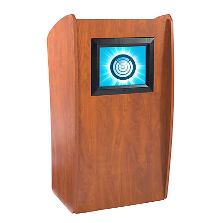 Oklahoma Sound? The Vision Lectern With Screen, Cherry