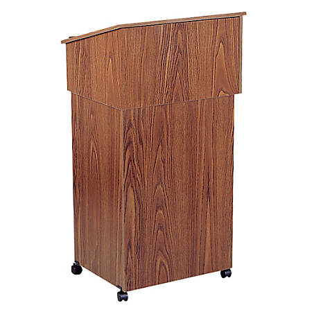 Oklahoma Sound? Table Top/Full Floor Lectern Combo, Medium Oak