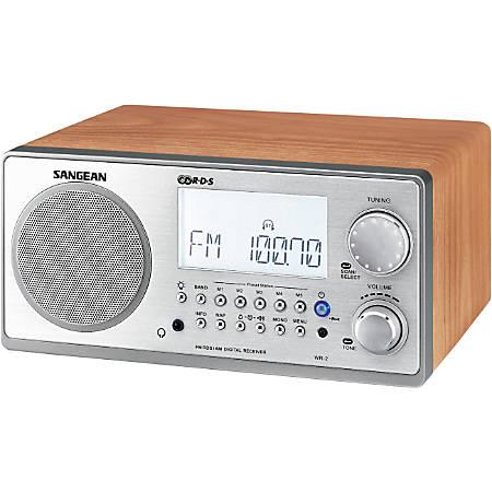 Sangean WR 2 Digital AMFM Table