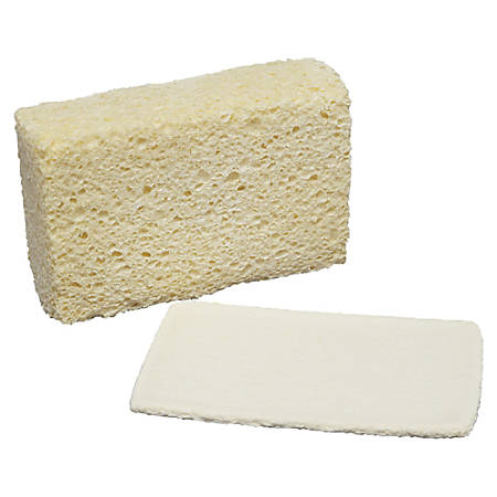 """SKILCRAFT® Cellulose Sponge, 5 3/4"""" x 3 5/8"""", Pack Of 12 (AbilityOne 7920-00-240-2555)"""