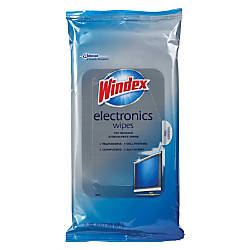Windex reg Electronics Wipes For Multi