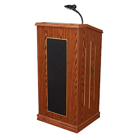 Oklahoma Sound® The Prestige Lectern, Medium Oak
