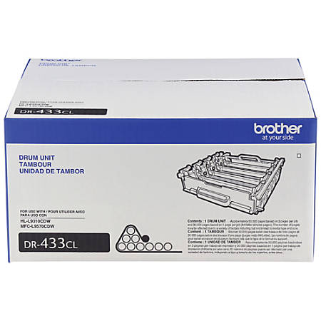 Brother® DR433CL Extra-High-Yield Color Drum Unit