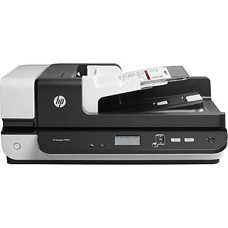 HP Scanjet Enterprise Flow 7500 Flatbed Scanner Item # 1305982