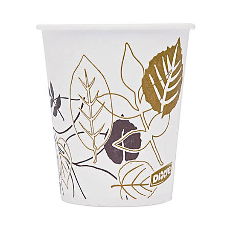 Dixie® Pathways Wax-Treated Paper Cold Cups, 3 Oz, 100 Cups Per Sleeve, Carton Of 24 Sleeves