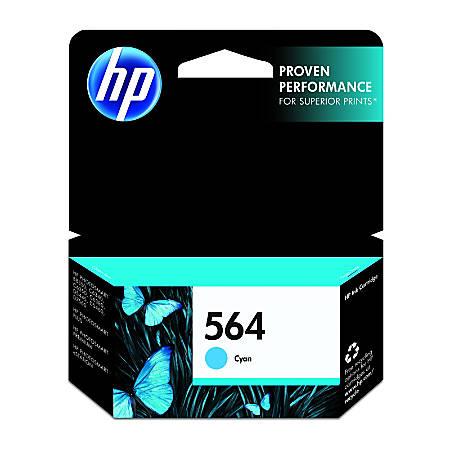 HP 564 Cyan Original Ink Cartridge (CB318WN)