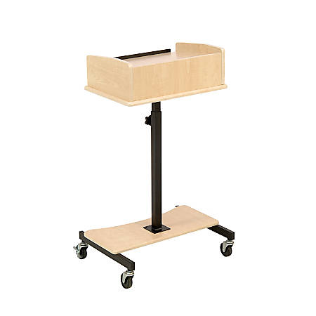 Oklahoma Sound® Laptop Speaker Stand, Fusion Maple