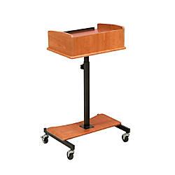 Oklahoma Sound Laptop Speaker Stand Cherry