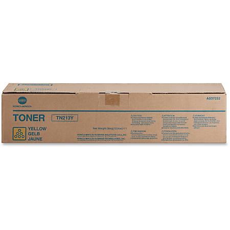 Konica Minolta TN-213Y Original Toner Cartridge - Laser - 19000 Pages - Yellow - 1 Each