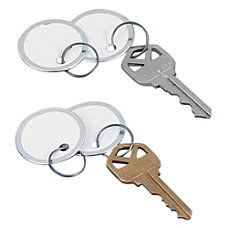 Avery Round Metal Rim Key Tags