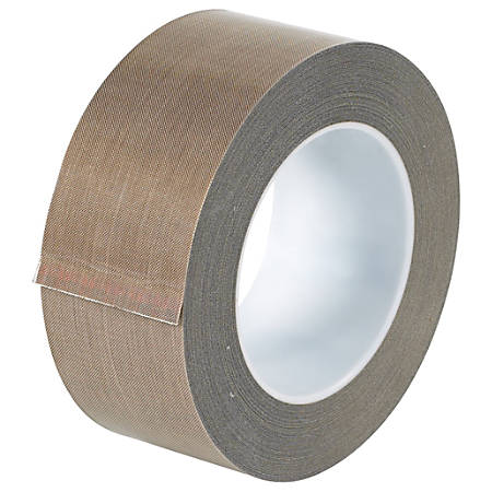 "Office Depot® Brand PTFE Glass Cloth Tape, 3"" Core, 2"" x 54', Brown"