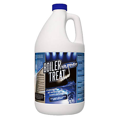 Green Gobbler Boiler Treat Ultra+ Delimer & Descaler, 1 Gallon Jug, Pack Of 3 Jugs
