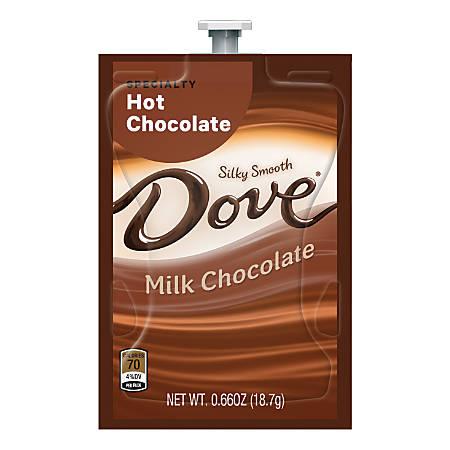 MARS DRINKS Flavia Dove Hot Chocolate Freshpacks, Case Of 72 Freshpacks