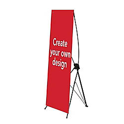 Custom Vertical Polypropylene Display Banner Create