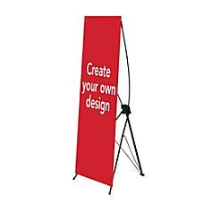 Custom Vertical Polypropylene Display Banner Create