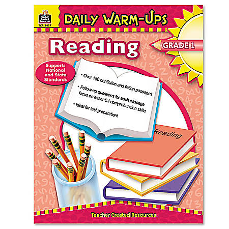 Teacher Created Resources Daily Warm-Ups: Reading Grade 1