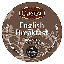 Celestial Seasonings Devonshire English Breakfast Black
