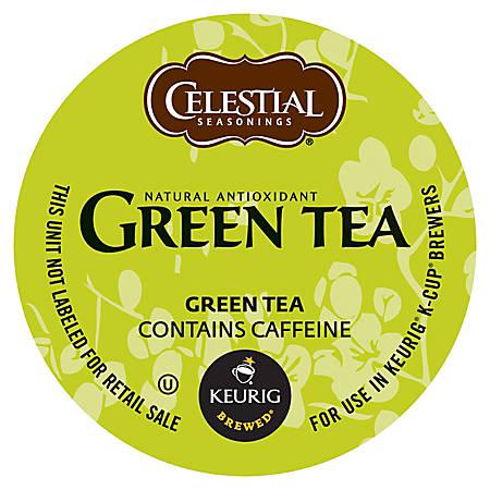 Celestial Seasonings® Natural Antioxidant Green Tea K-Cup® Pods, 0.40 Oz, Box Of 96