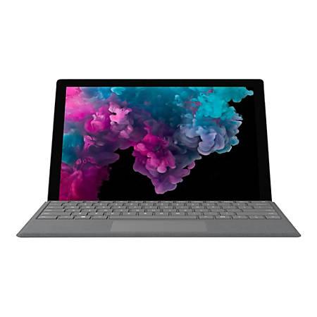 Microsoft Surface Pro 6 - Tablet - Core i5 8250U / 1 6 GHz - Windows 10  Home - 8 GB RAM - 256 GB SSD NVMe - 12 3