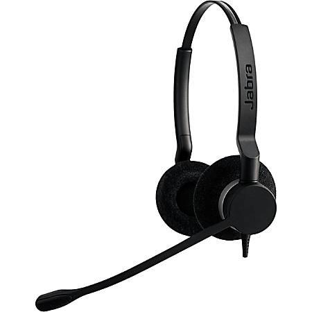 Jabra BIZ 2300 USB Headset - Stereo - USB - Wired - Over-the-head - Binaural - Supra-aural - Noise Cancelling Microphone