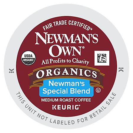 Newman's Own® Organics Special Blend Coffee K-Cup® Pods, Case Of 96