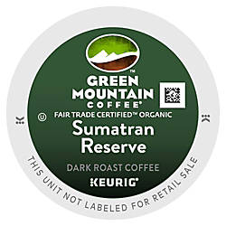 Green Mountain Coffee Sumatran Reserve Coffee