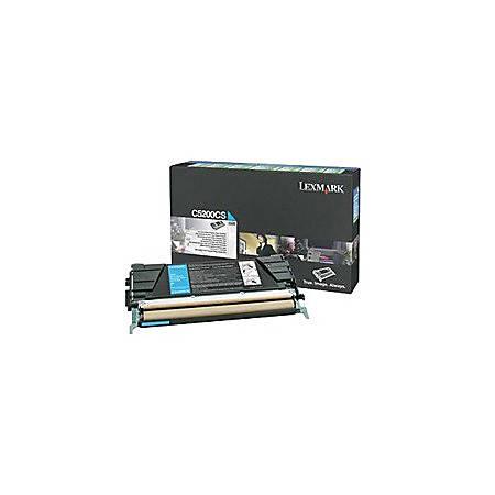 Lexmark C5226KS Cyan Toner GSA C52x Return Program Cyan Cartridge