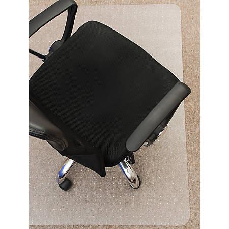 "Mammoth PolyCarbPlus Polycarbonate Chair Mat, 30""W x 48""L"
